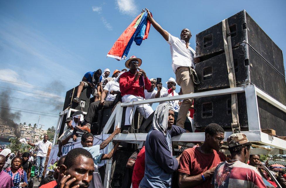 haiti protesti