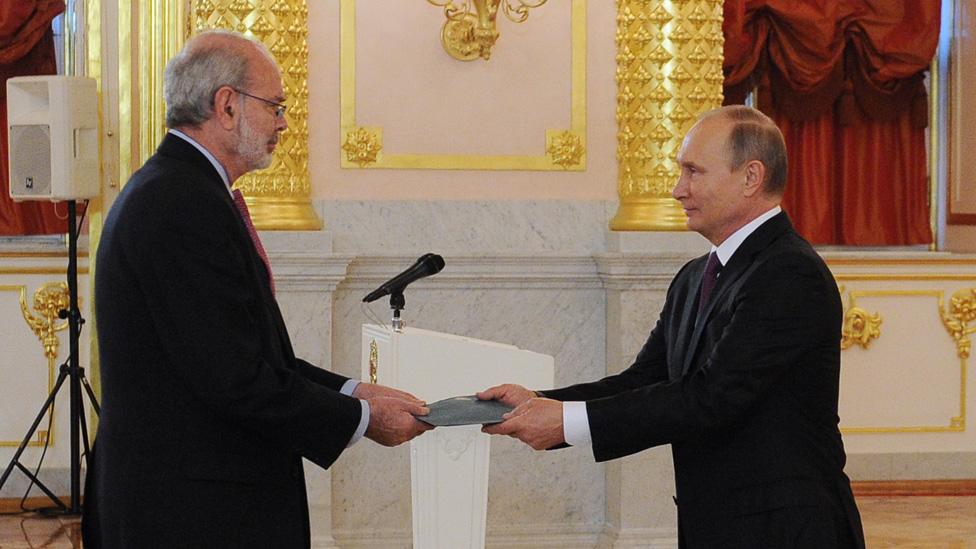 Lopez Caballero y Putin