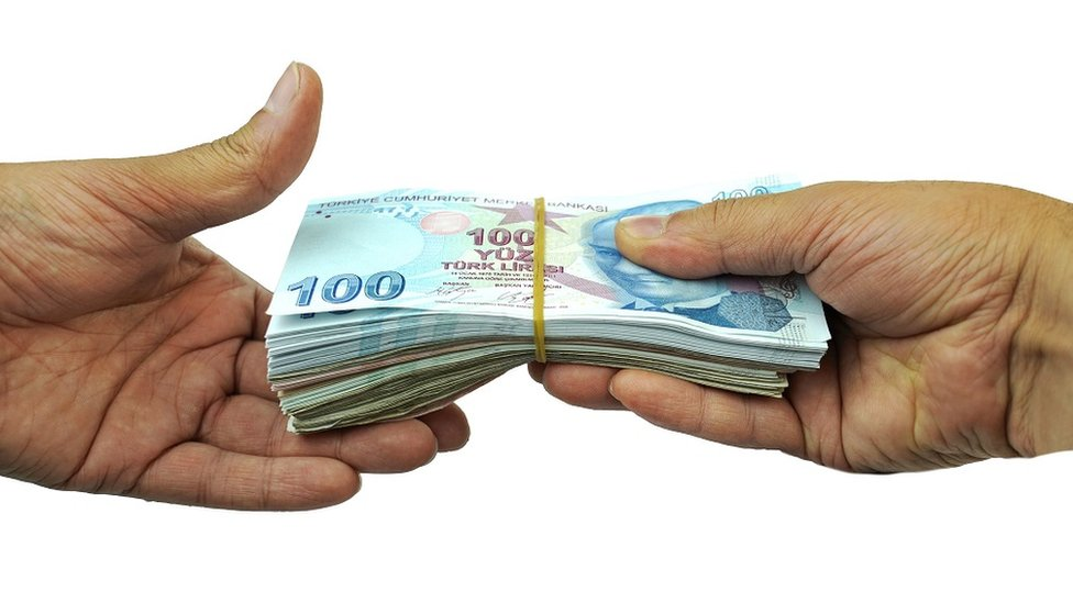 intercambio de billetes
