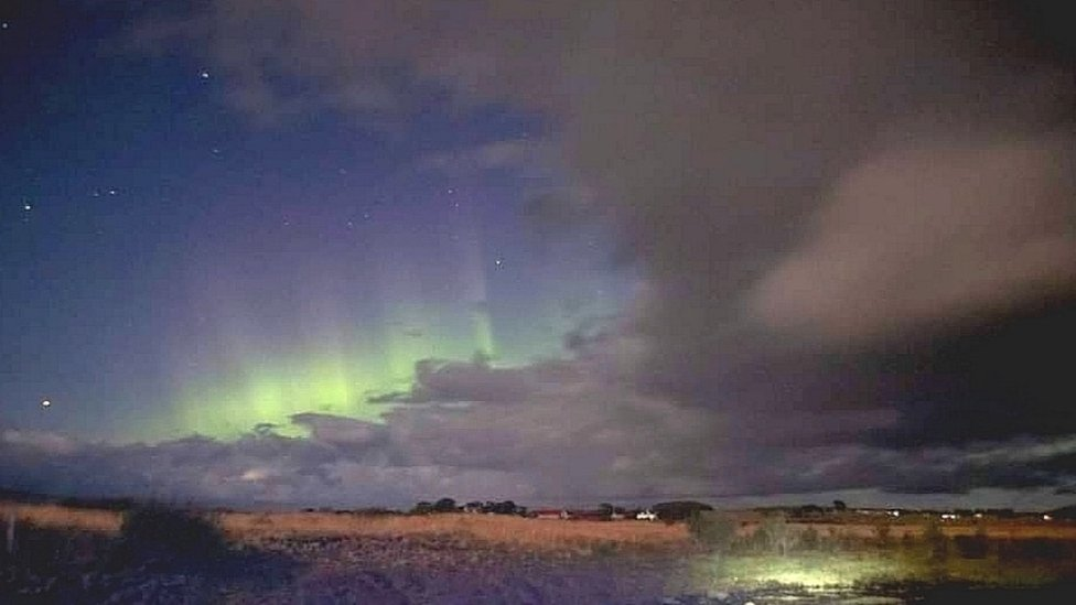 Aurora from Lairg