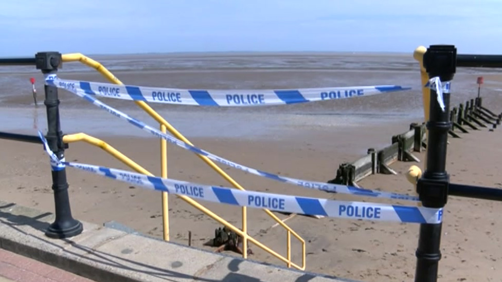 Cleethorpes beach death: Gary Simpson identified