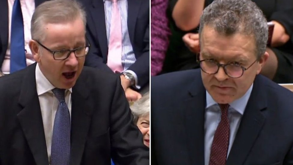 No confidence motion: Gove and Watson ahead of vote