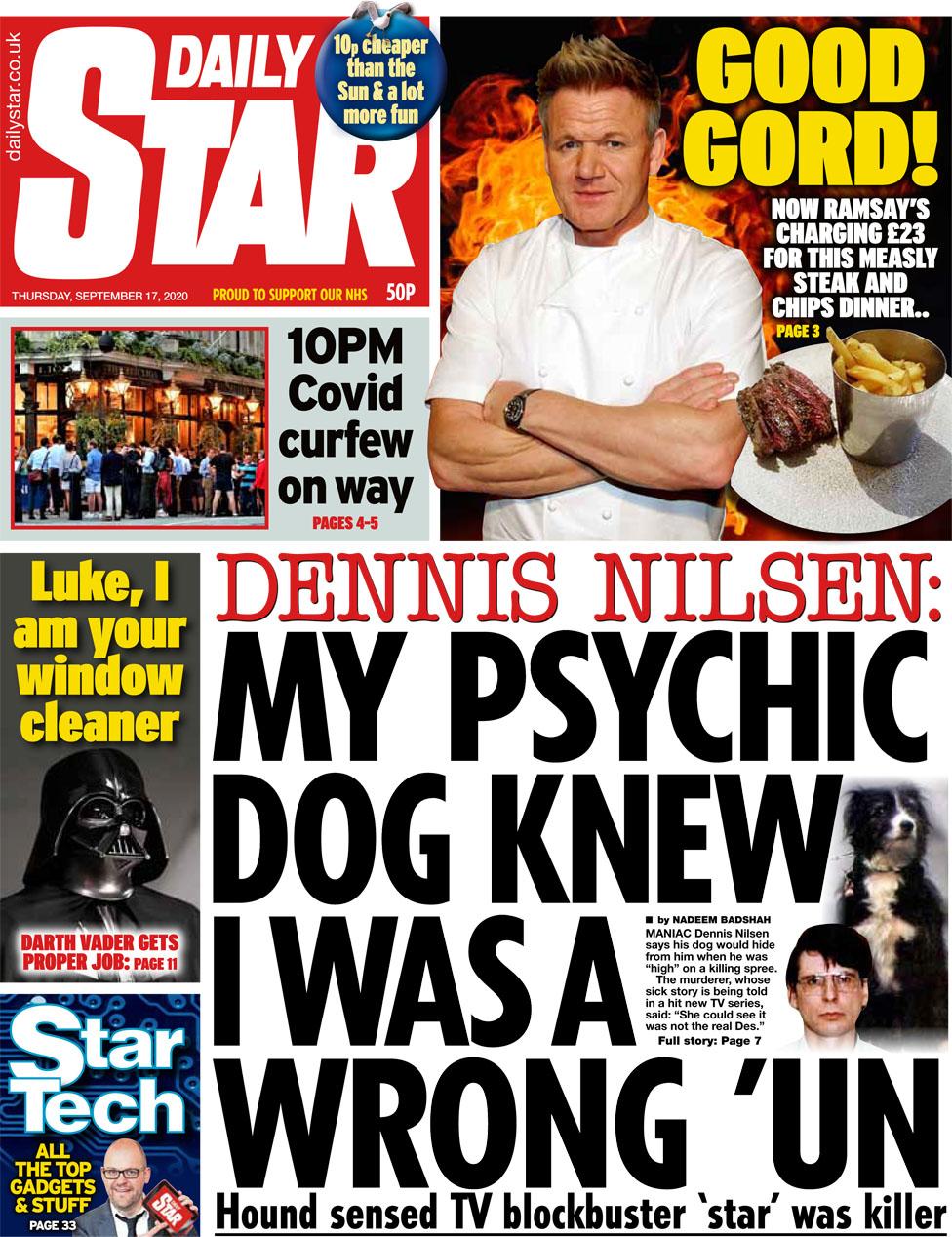 Daily Star 17 September