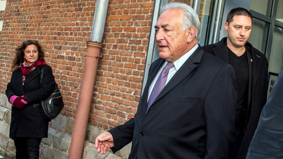 Ex-IMF chief Dominique Strauss-Kahn