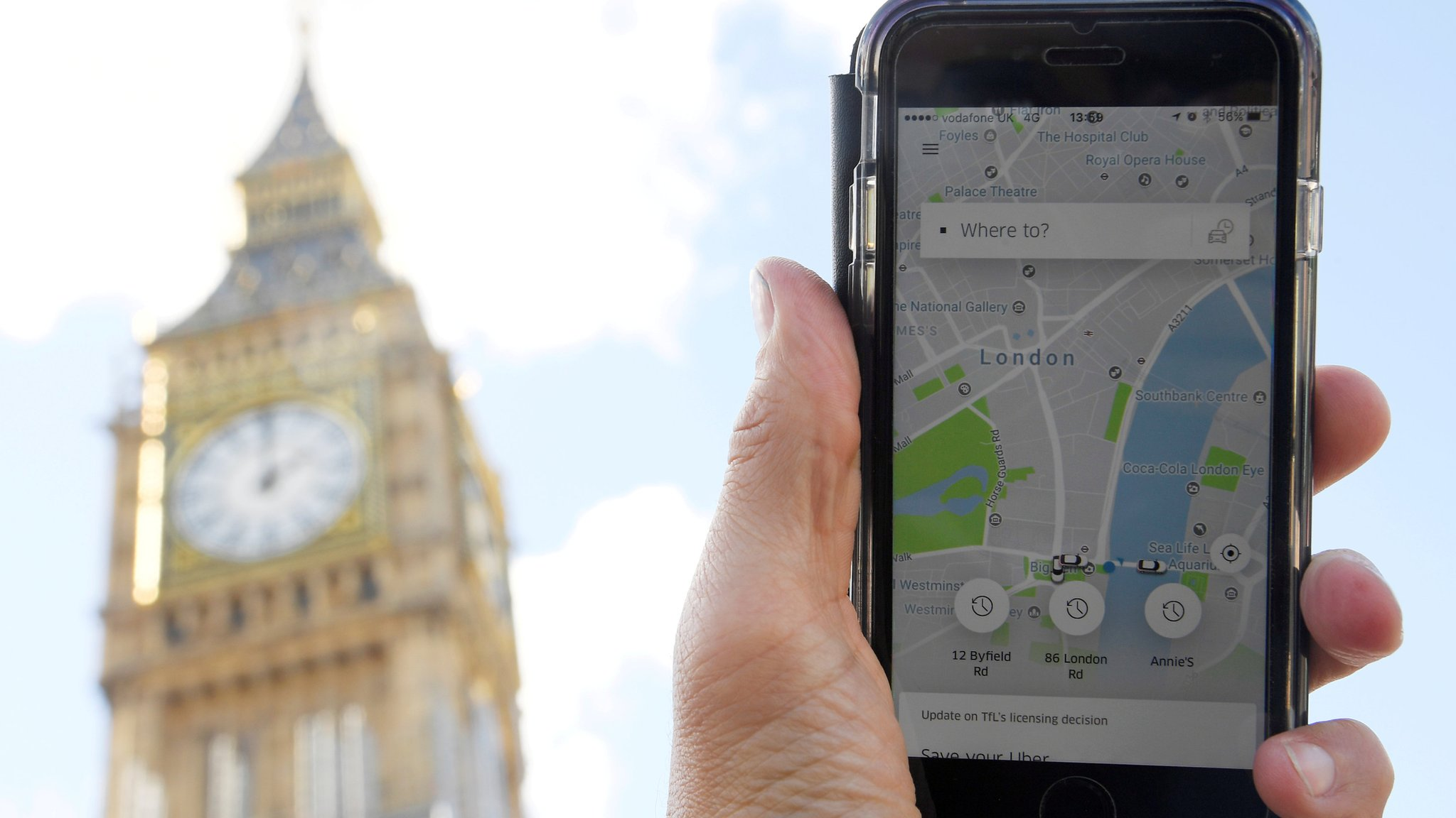 London-registered minicabs 'working in other cities'