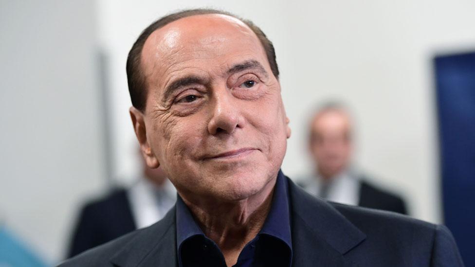 Coronavirus: Italy ex-PM Berlusconi treated for pneumonia thumbnail