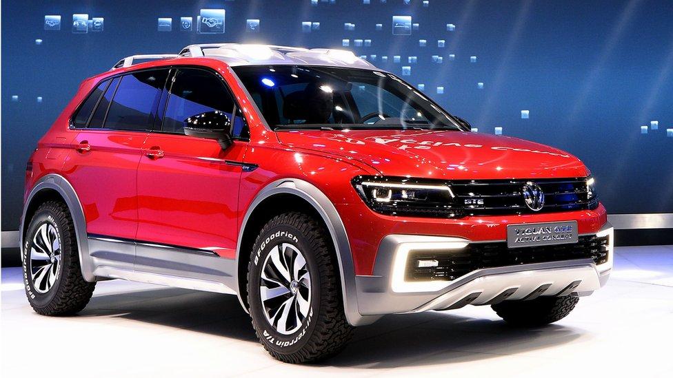 Volkswagen Tiguan GTE Active Concept SUV