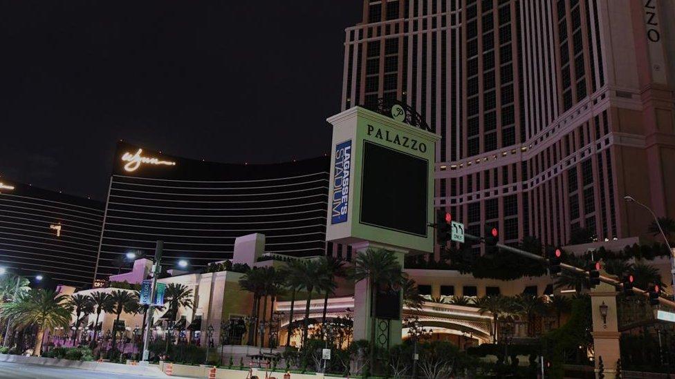 Čak su i blistava svetla Las Vegasa zgasnula kada su se kazina zatvorila zbog Kovida-19