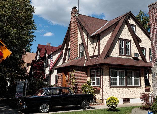 Trump's childhood home