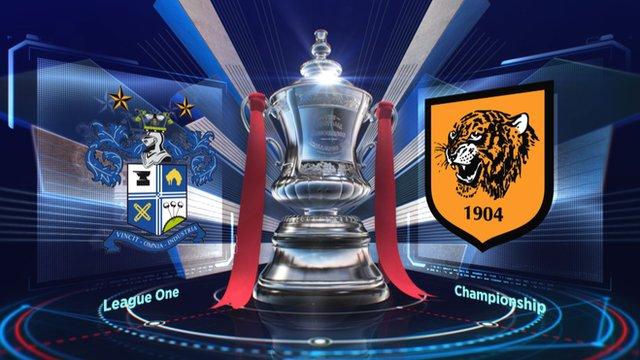 Bury 1-3 Hull City highlights