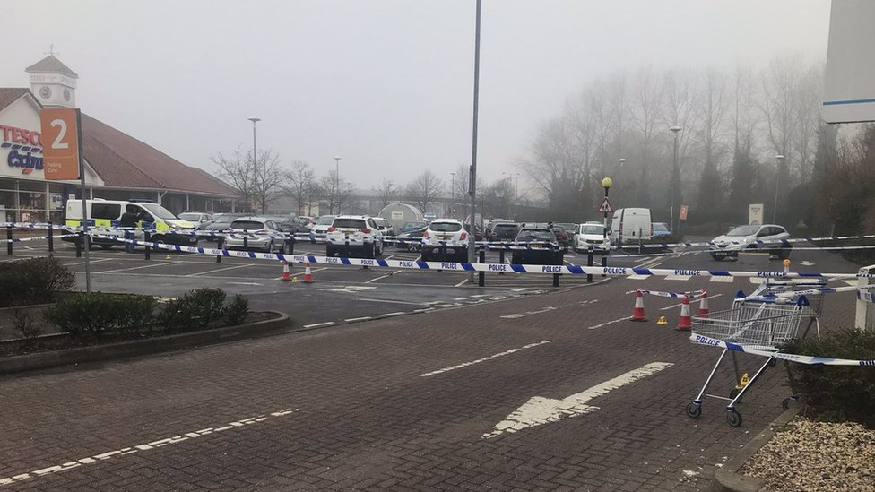 Trowbridge Tesco car park stabbing: Three boys arrested