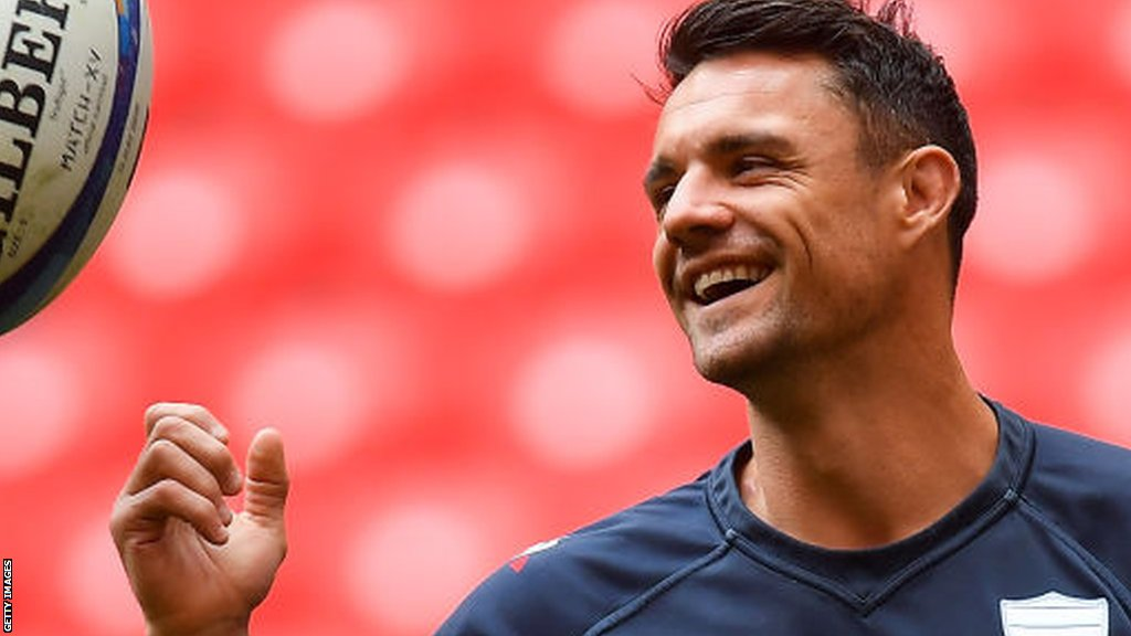 Dan Carter: New Zealand great to return to Racing 92