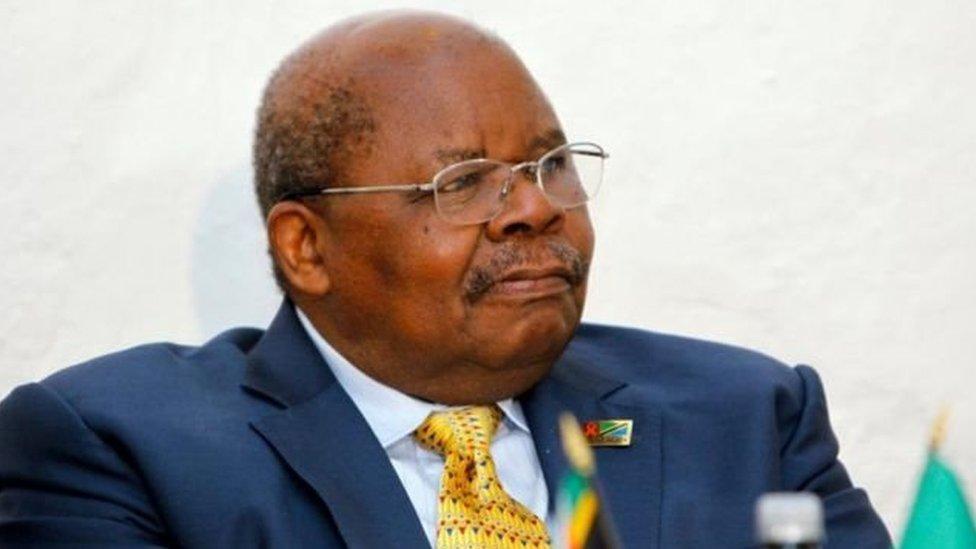 Rais wa zamani wa Tanzania Benjamin William Mkapa alifariki dunia mwezi Julai, 2020