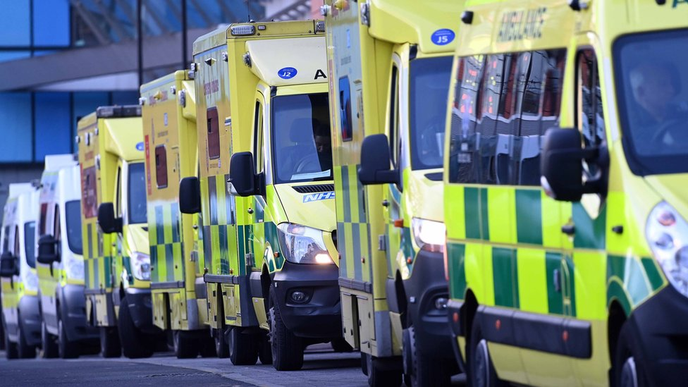 Ambulance waiting times in parts of England 'off the scale' thumbnail