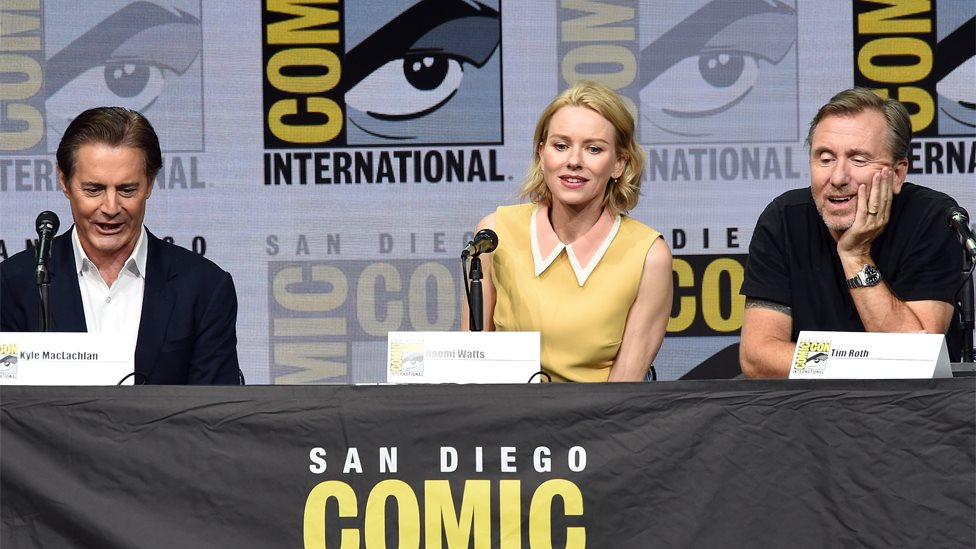 Kyle McLachlan, Naomi Watts and Tim Roth