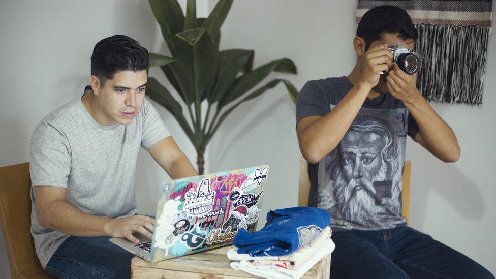 Daniel y Fran Galeano.
