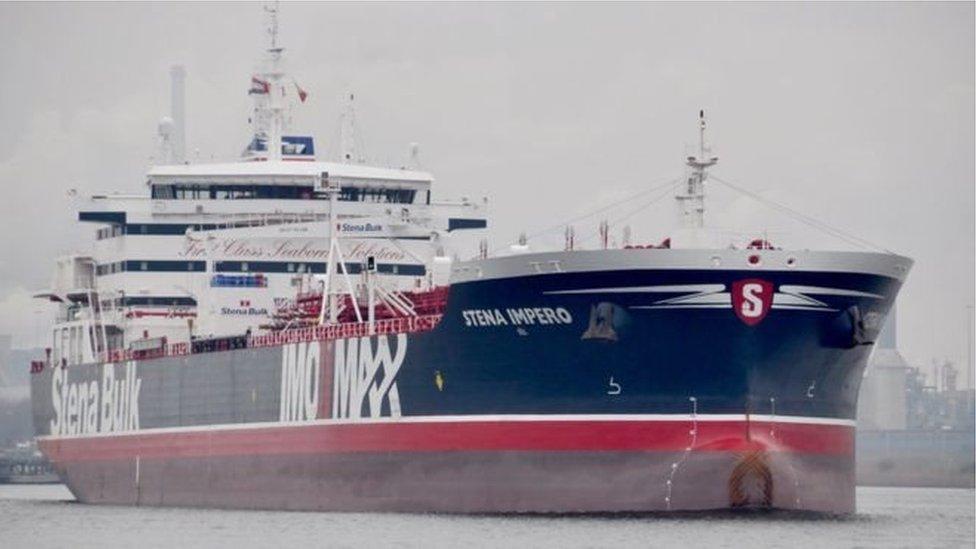 ईरान ने ज़ब्त किया ब्रितानी तेल टैंकर, बढ़ा तनाव