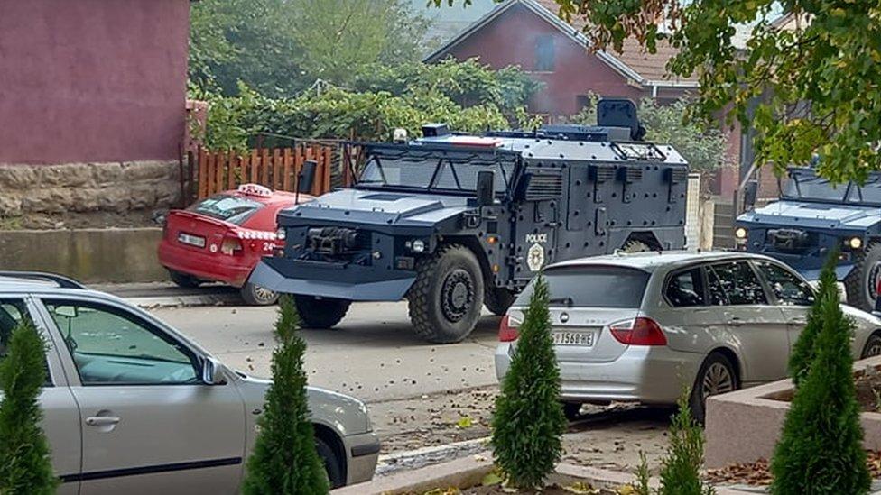 Policija u Kosovskoj Mitrovici