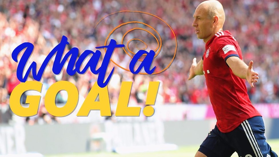 Bayern Munich: Arjen Robben nets spectacular volley in Bayern win