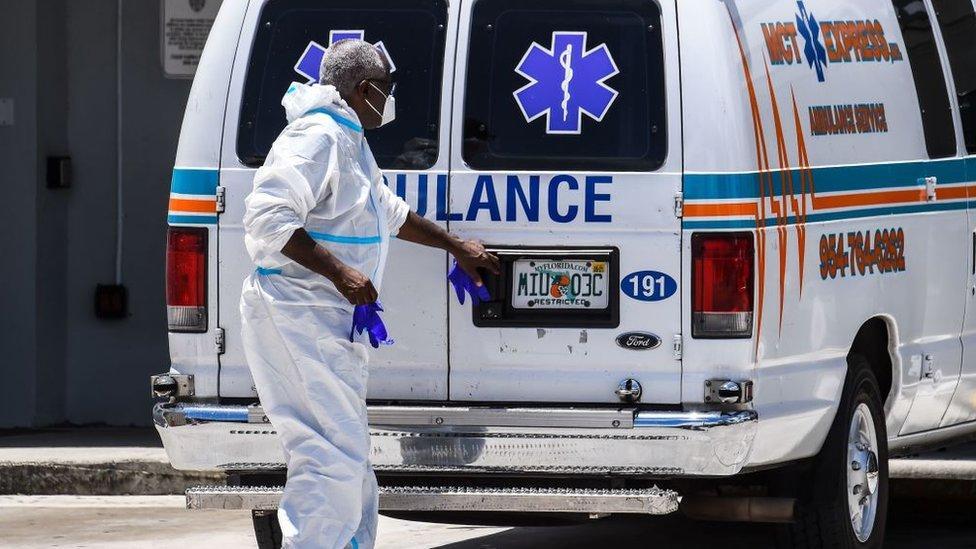 Ambulancia en EE.UU.