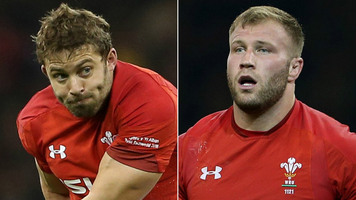 Injured duo Halfpenny and Moriarty included in Wales squad