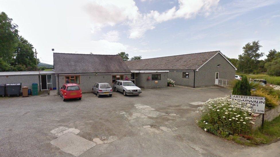 Shock at imminent closure of Caernarfon nursing home