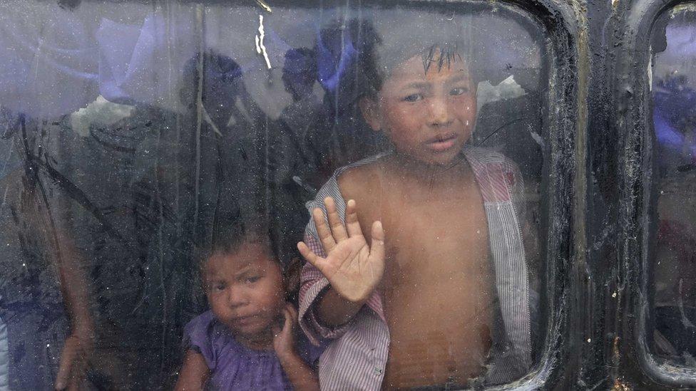 Anak-anak Rakhine