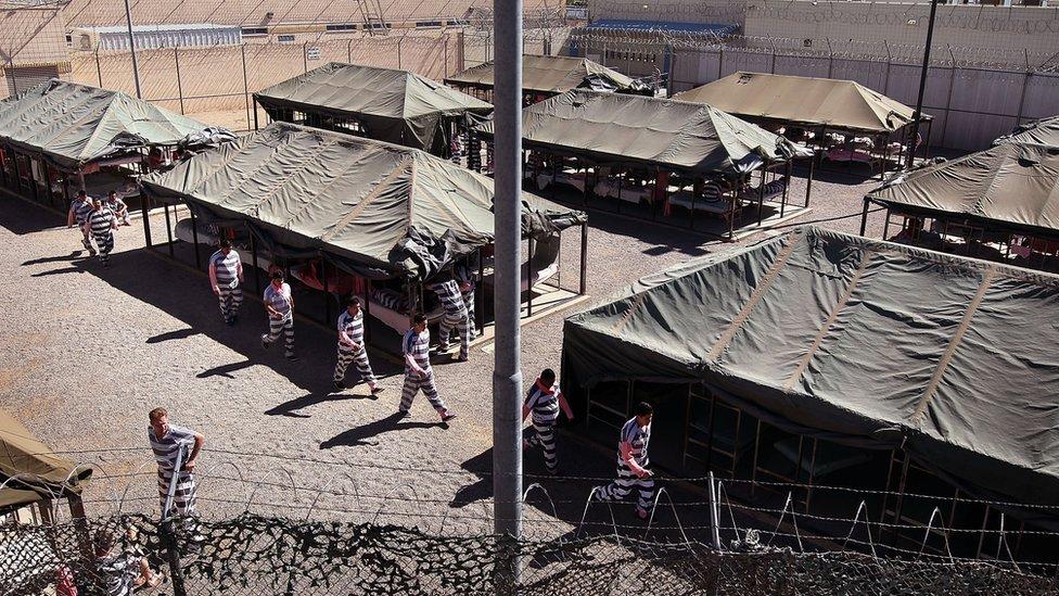 Tent City en Maricopa