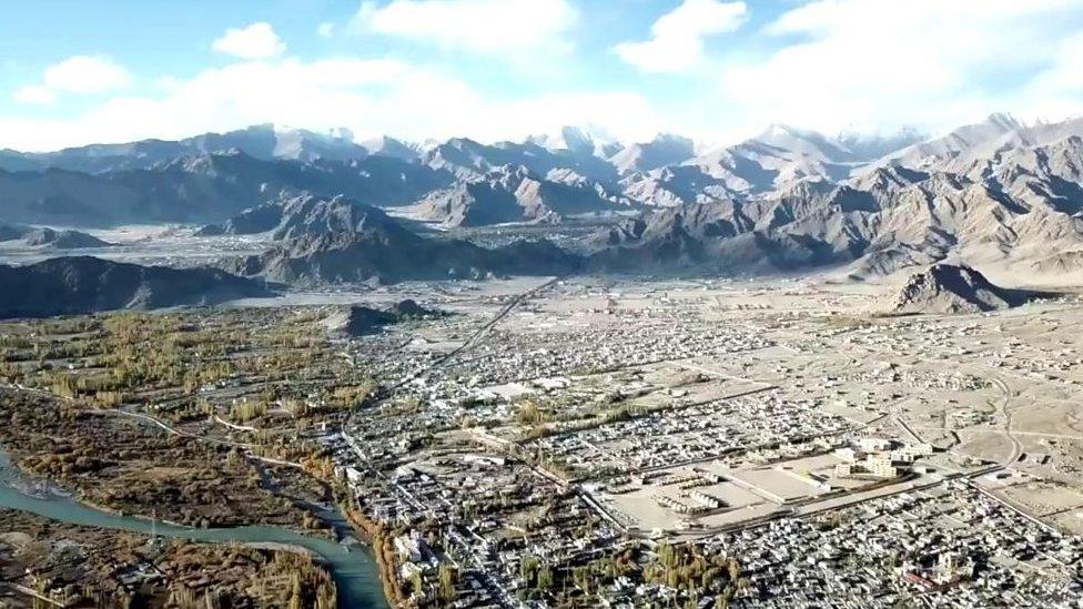 اشتبكت الهند والصين مرارا حول لاداخ في جبال الهيمالايا