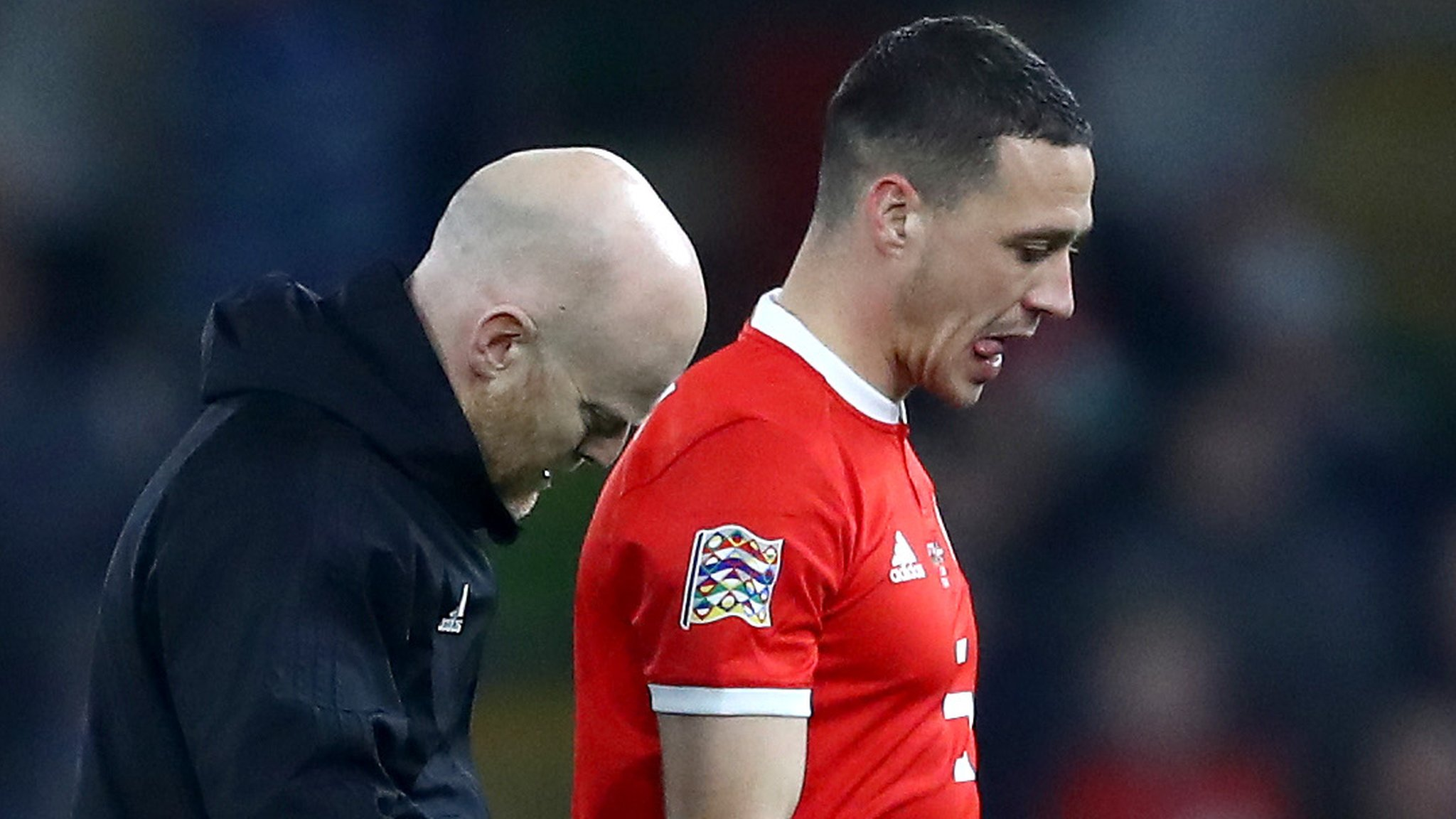 Wales: James Chester and Paul Dummett out of Albania trip