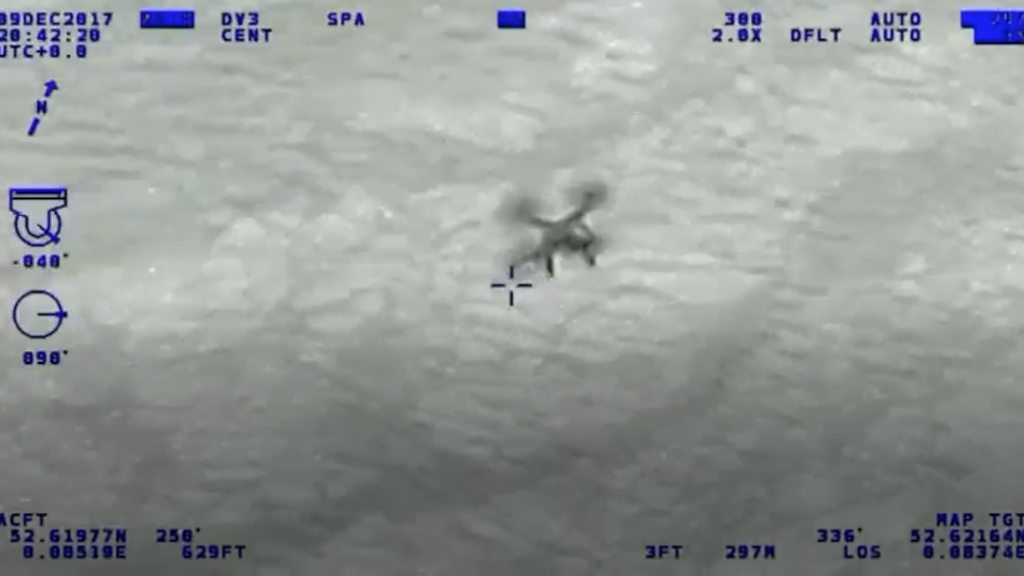 Drone endangered police helicopter in Cambridgeshire