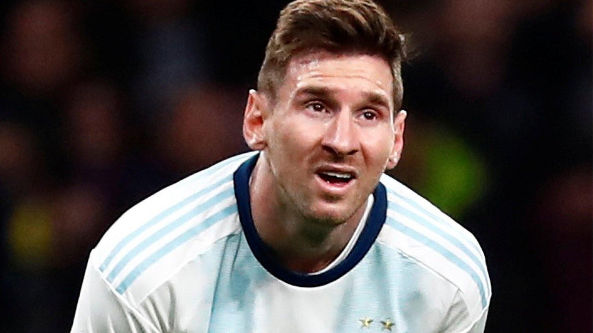 Lionel Messi's return for Argentina ends in 3-1 defeat against Venezuela
