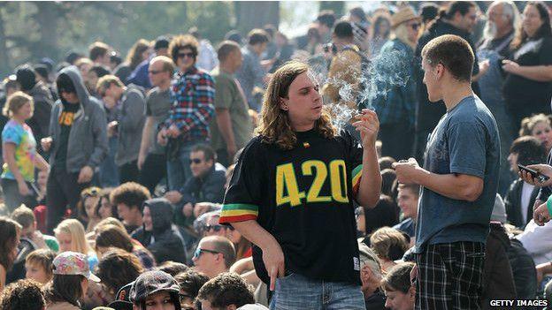 El moviemiento 420 en EE.UU.