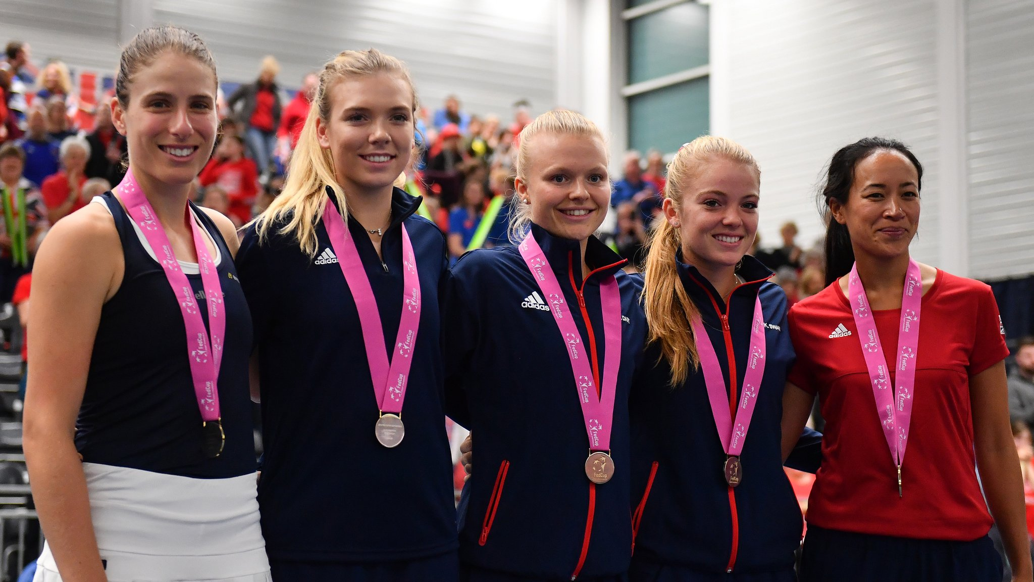 Fed Cup: Great Britain name unchanged team for World Group II play-off
