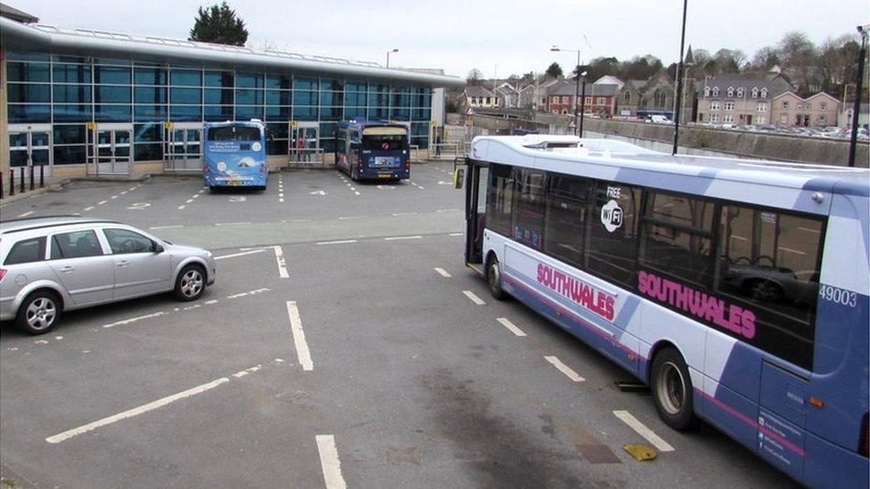 Last bus subsidies scrapped across Bridgend county