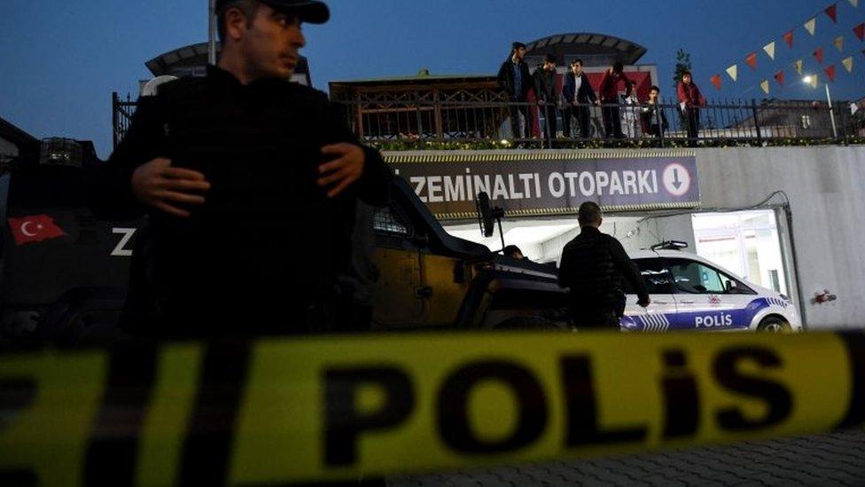 turska policija u Istanbulu