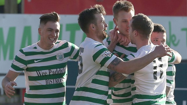 Lurgan Celtic knock Portadown out of the Irish Cup at the quarter-final stage