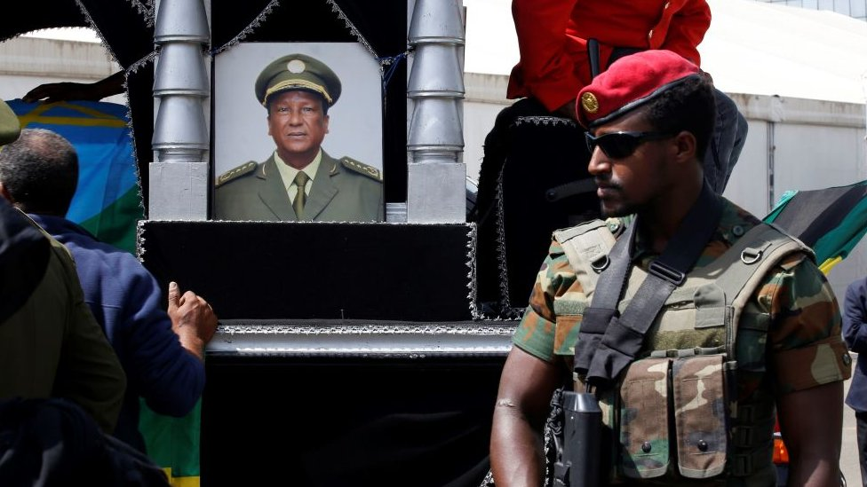 Memorial for Gen Seare Mekonnen and Gen Gezai Abera, Addis Ababa
