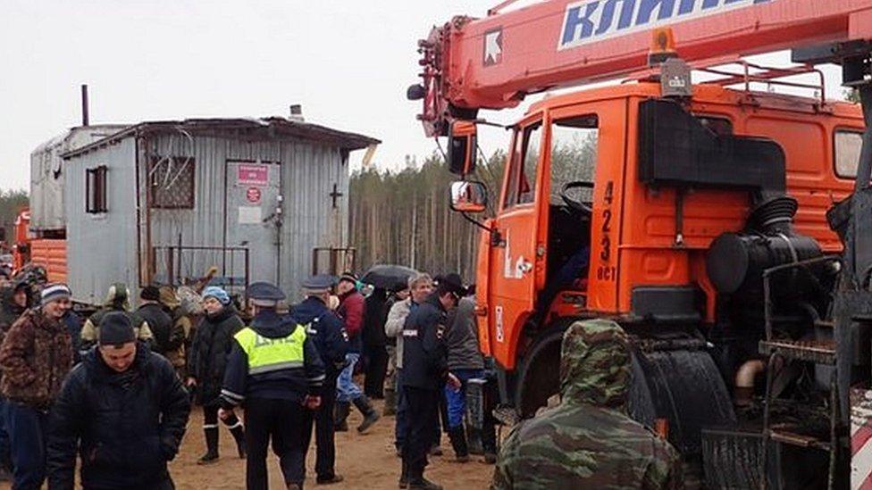 Протесты в Архангельской области: полиция в лесу, активист в реанимации