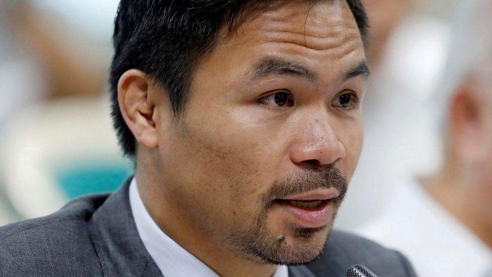 الملاكم الفلبيني ماني باكياو