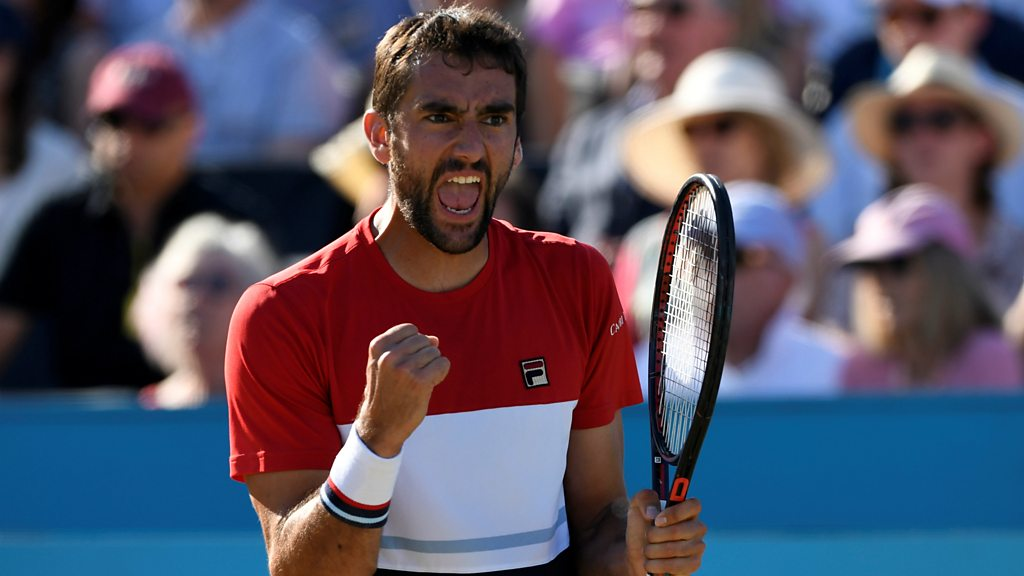 'A gutsy performance' - Marin Cilic produces big serve to win Queen's title