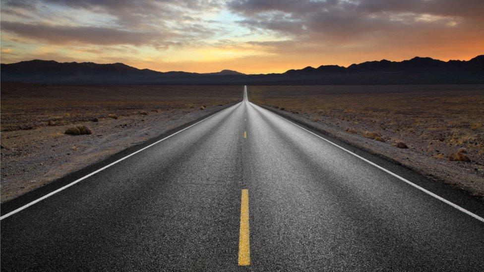 Ruta solitaria.