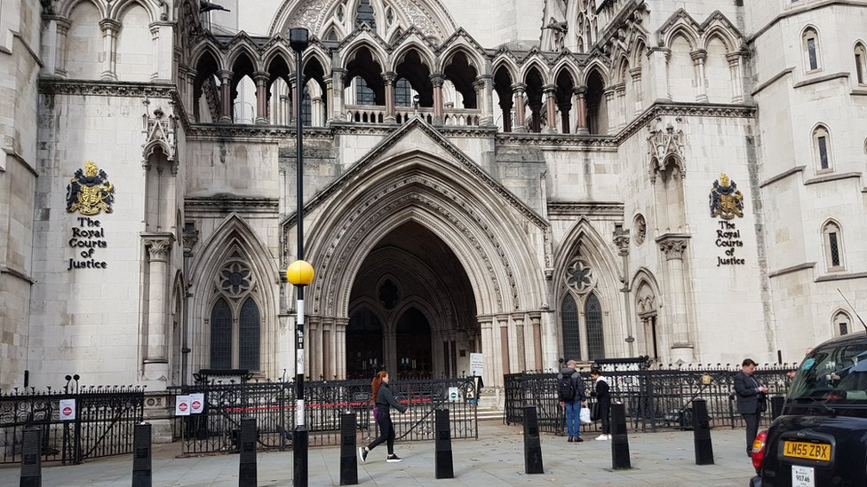Royal Court of Justice, London.