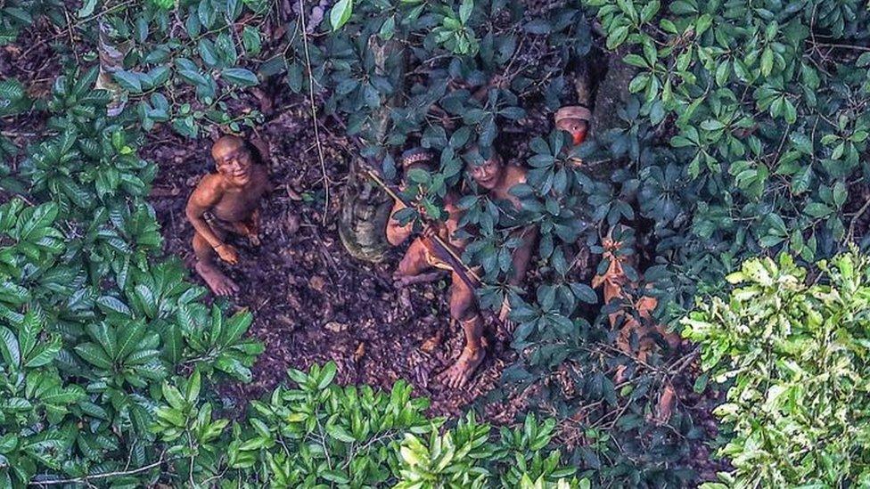 Amazon ormanlarında dünyayla temas kurmayan kabilelerin yarısından çoğu barınıyor.