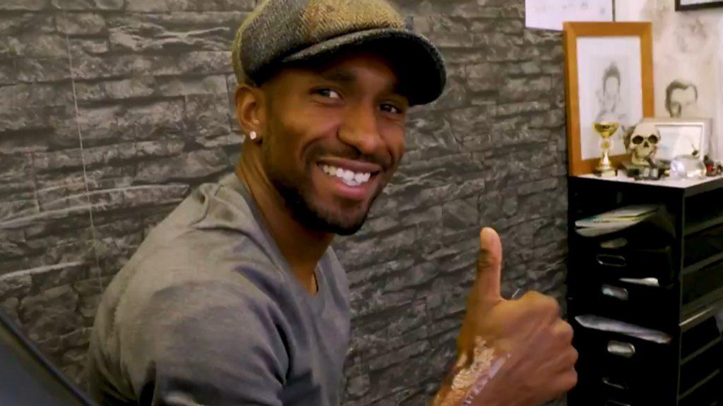 Defoe gets tattoo for Bradley Lowery