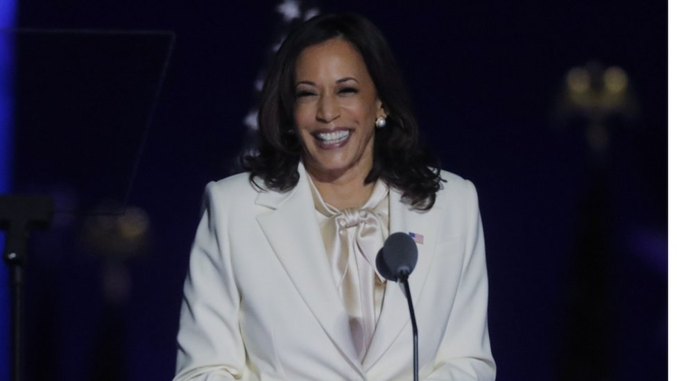 Kamala Harris The Many Identities Of The First Woman Vice President Bbc News