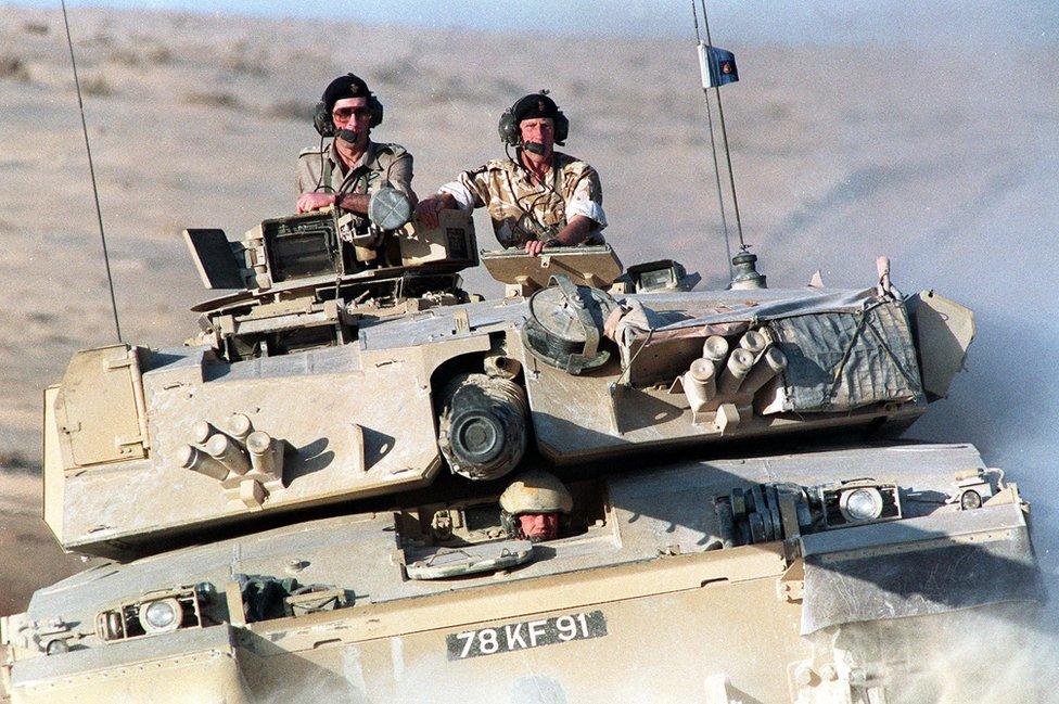 U poseti britanskim trupama u Saudijskoj Arabiji