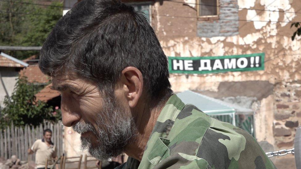 Aleksandar Panić iz organizacije Odbranimo reke Stare planine, Topli Do, septembar 2019.