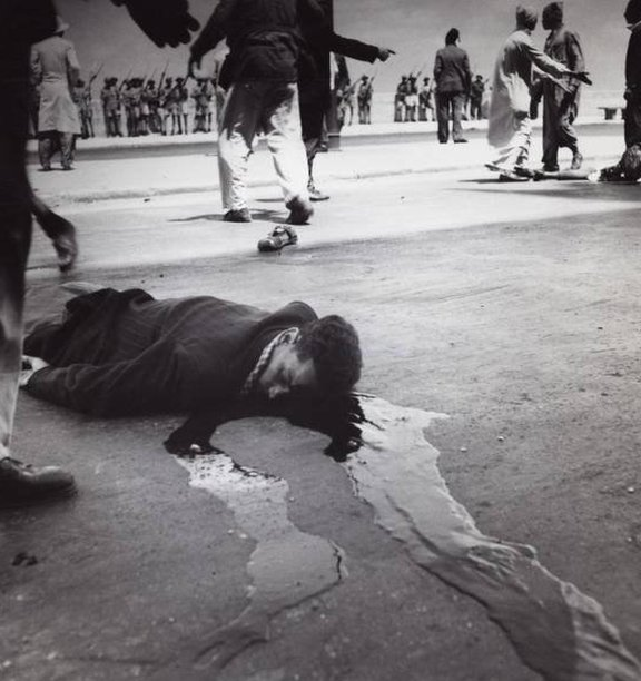 استخدمت القوات الفرنسية العنف لقمع الثورة الجزائرية