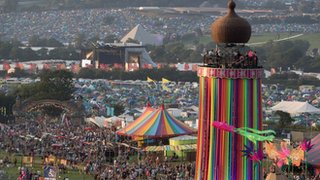 Glastonbury 'never stands still'